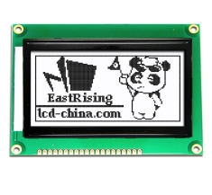 Graphic Module 128x64 Serial LCD Display ST7920 Black on White ERM12864FS-6